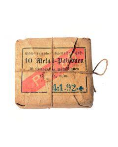 Schweizer Ord. Vetterli - Patronen 10,4mm Metal