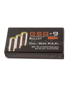 GSG  9mm P.A. Knallpatronen