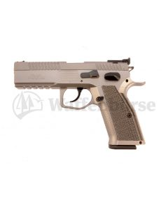 PHOENIX Miet-Pistole Redback Stainlees Silver  9mm para