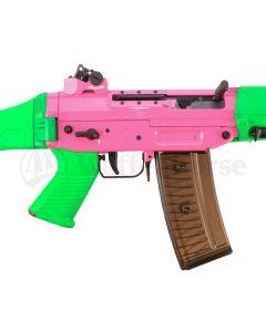 SIG Sturmgewehr 550 / PE 90 Pink/Grün  GP90/.223 Rem