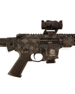 SCHMEISSER AR 15 / 9S Halbautomat MilCOMP Camo limitiert  9mm para
