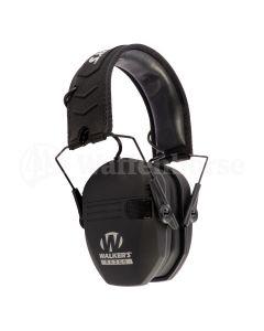 WALKER`S Pamir Razor Slim Earmuff Electro Black