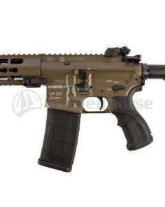 """Haenel  AR 15 CR 223 oliv  Halbautomat 12,5""""  .223 Rem."""