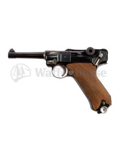 Mauser  P 08 byf 42  Pistole  9mm para