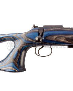 CZ 455 Thumbhole Lochschaft blau Flobert  .22lr