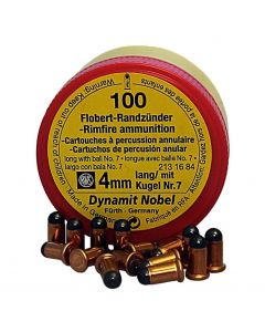 RWS Dynamit Nobel 4mm lang Randfeuer no. 7