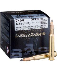 SELLIER&BELLOT 7x64 TM SPCE 11,2g Bull Pack