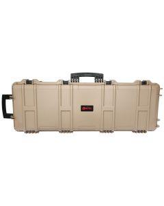 NUPROL  Gewehrkoffer XL Hard Case Tan  130x32x12,5cm (innen)