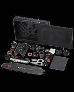 G+E Stgw 90 Set-Box-Maxi Iris-Ringkorn m. Adapter div. Zubehör, m. Farbfilterkassette, m. Irisblende    (jetzt Vorbestellen)