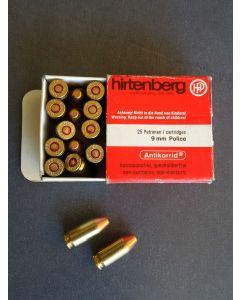 Hirtenberger  Patronen  9x18 Police VM 6,5g