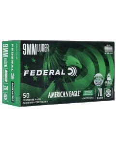 FEDERAL American Eagle 9mm Luger - Para IRT - Bleifrei 70grain