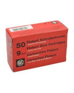 RWS Dynamit Nobel 9mm Doppel-Schrot Flobert Randfeuer