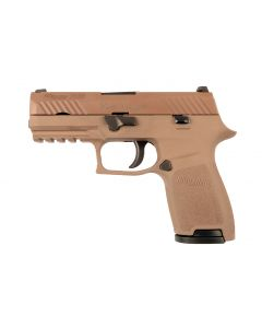 SIG SAUER Miet-Pistole P320 Compact FDE   9mm para