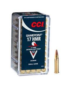 CCI  .17 HMR Gamepoint 20gr
