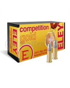 ELEY Competition (swiss) gold   .22 long rifle