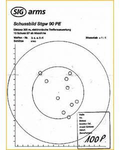 Schussbild Stgw 57