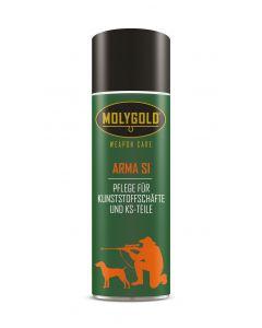 MOLYGOLD Pflege - Spray  Kunststoff-Schäfte 100 ml