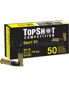 TOP SHOT Competition Black Edition .22 long rifle 1000 Schuss