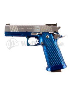 INFINITY SVI 1911-2011 Duty Carry Blau-Stainl  -  wide body 9mm para