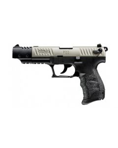 WALTHER P22Q Target Nickel Pistole .22lr