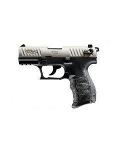 WALTHER P22Q Nickel Pistole .22lr
