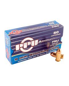 Partizan PPU  9mm Browning Long FMJ 7,0g