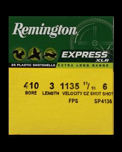 Remington Schrotpatrone  410/76, Express  No.6  2,7mm