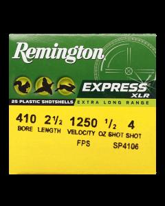 Remington Schrotpatrone  410/65, Express  No.4  3,3mm