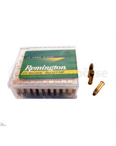 Remington Golden Bullet 22lr long HP Highvelocity