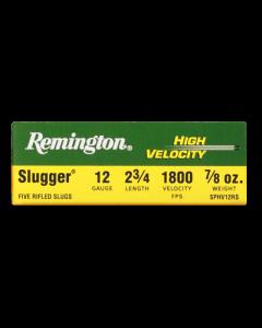 Remington Flintenlauf - Patrone 12/70, High Velocity Rifled Slug