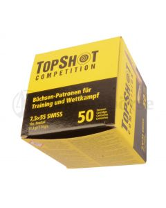 Top Shot 7,5x55 Swiss FMJ 174gr - 11,3g