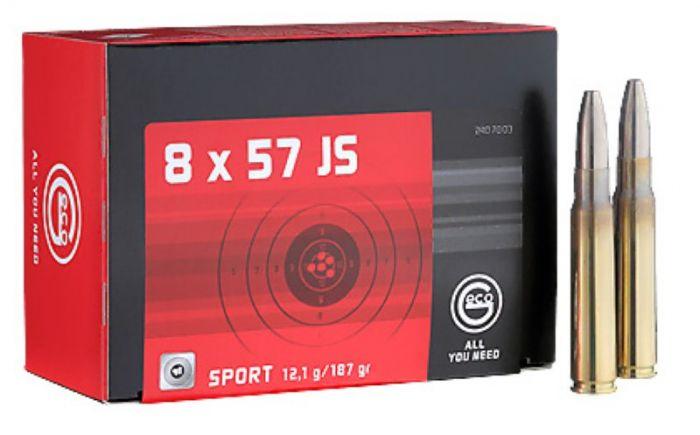 RWS / GECO 8x57 IS Sport SG 12,0g