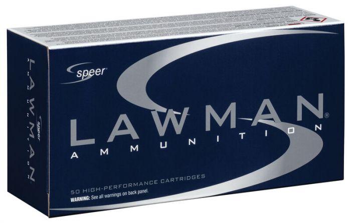 SPEER  Lawman  9mm Luger - Para  TMJ  Nontox 124gr