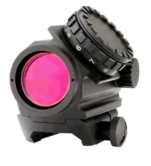 GECO Optics Rotpunktgerät 1x20 2MOA black ACTION