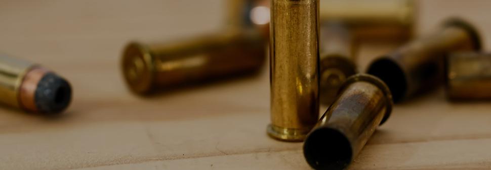 Grosse Auswahl an Munition.