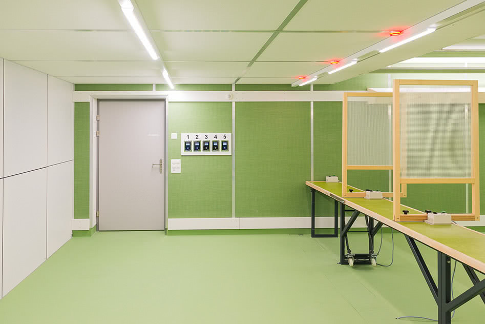 Schiesskeller Eingangsbereich