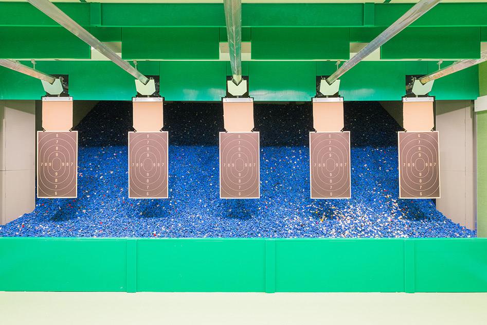 Schiesskeller Granulat-Kugelfang